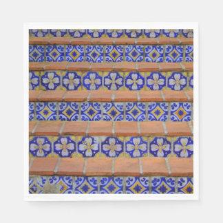 Mosaic Stairs Napkin