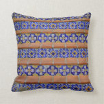 Mosaic Stairs Throw Pillow