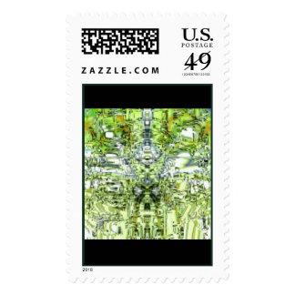 Mosaic Stamp Design 1b