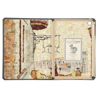 Mosaic Street Cafe iPad Air Cases