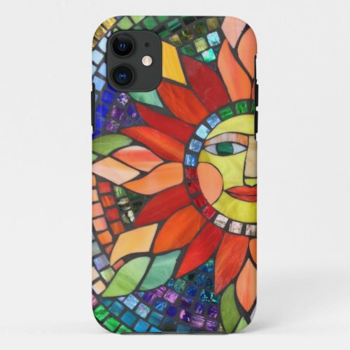 Mosaic Sun Cell Phone Case Phone Case