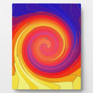 Mosaic Swirl. Display Plaque