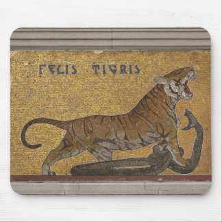 Mosaic Tiger Mural Mousepad