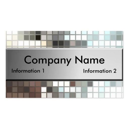 Mosaic Tile Business Cards