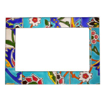 Mosaic Tile Design Magnetic Frame