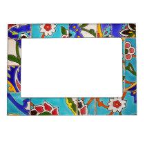 Mosaic Tile Design Magnetic Frame