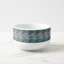 Mosaic Tile Design Soup Mug