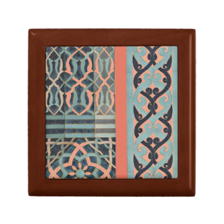 Mosaic Tile pattern - any color Keepsake Box
