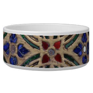 Mosaic tile pattern stone glass Moroccan photo Bowl