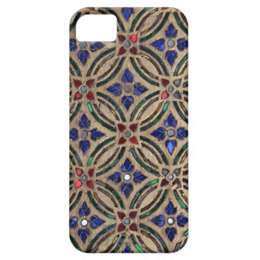 Mosaic tile pattern stone glass Moroccan photo iPhone 5 Covers