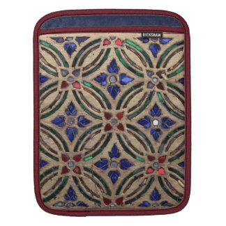 Mosaic tile pattern stone glass Moroccan photo iPad Sleeves