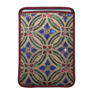 Mosaic tile pattern stone glass Moroccan photo MacBook Sleeve