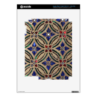 Mosaic tile pattern stone glass Moroccan photo Skin For iPad 3