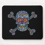 Mosaic Tile Pirate Mouse Pad