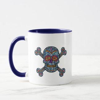 Mosaic Tile Pirate Mug