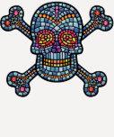 Mosaic Tile Pirate Tshirts