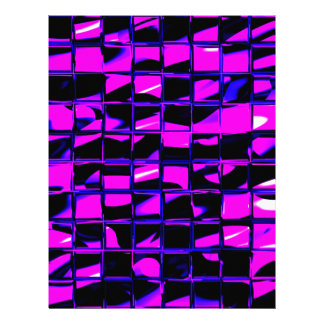 Mosaic Tile (purple) Letterhead