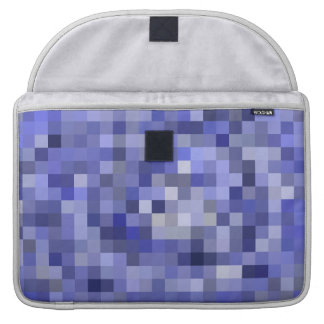 Mosaic Tiles Blurry Blue – Shades of Blue Sleeve For MacBooks