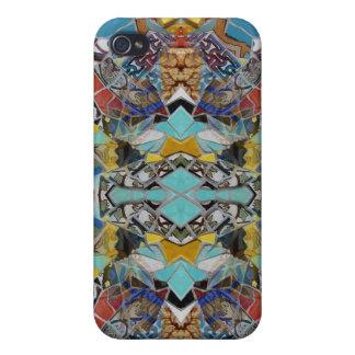 Mosaic Tiles LA iPhone 4 Cases