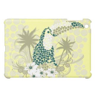 Mosaic Toucan Bird on Yellow  iPad Mini Case