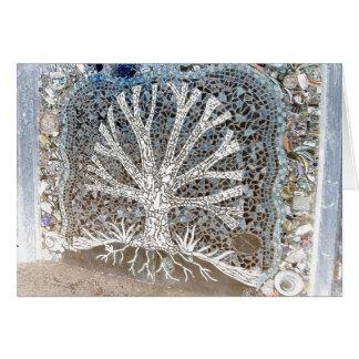 Mosaic Tree Card