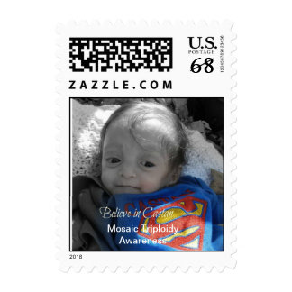 Mosaic Triploid Awareness Postage Stamp
