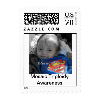 Mosaic Triploidy Awareness stamps