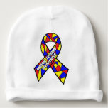 Mosaic Trisomy Awareness Baby Hat