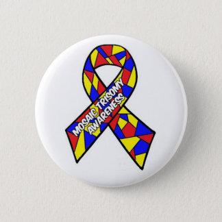 Mosaic Trisomy Awareness Button