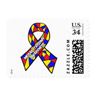 Mosaic Trisomy Awareness Postage Stamp
