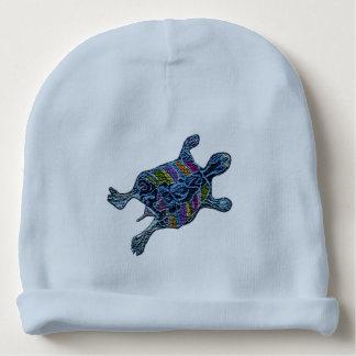 Mosaic Turtle Baby Beanie