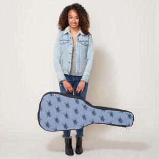 Mosaic Turtle Guitar Case