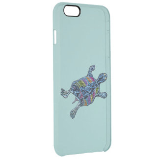 Mosaic Turtle Uncommon Clearly™ Deflector iPhone 6 Plus Case