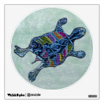 Mosaic Turtle Wall Decals