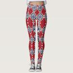 Mosaic Wallpaper Leggings