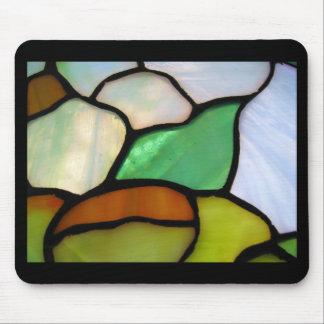 Mosaic ZZ Black Mousepad