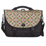 Mosaico 01 en flores de geometría marroquí en bolsas para portatil