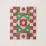 """Mosaico 8"""" del día de fiesta x 10"""" rompecabezas co"""