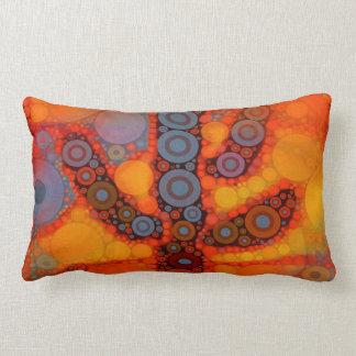 Mosaico al sudoeste púrpura anaranjado del cactus almohadas
