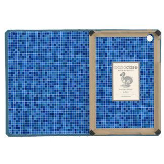 Mosaico azul del pixel