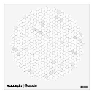 Mosaico blanco vinilo adhesivo