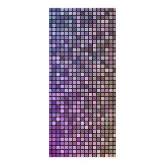 Mosaico colorido del pixel tarjetas publicitarias personalizadas