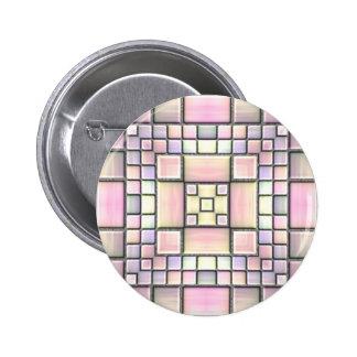 Mosaico de cerámica pins