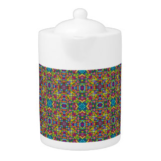 Mosaico de cristal colorido