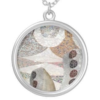 Mosaico de Gaudi Colgante Redondo