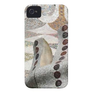 Mosaico de Gaudi iPhone 4 Cárcasa