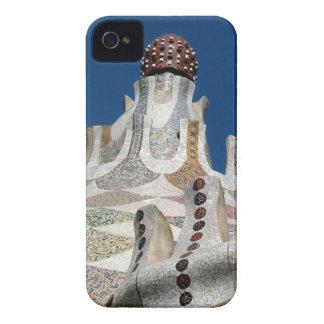 Mosaico de Gaudi Case-Mate iPhone 4 Carcasa