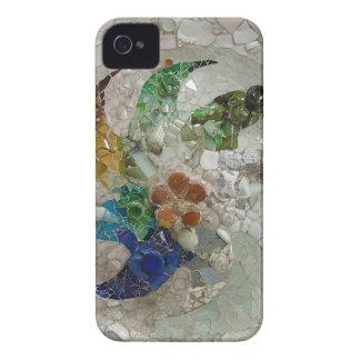 Mosaico de Gaudi iPhone 4 Case-Mate Cobertura