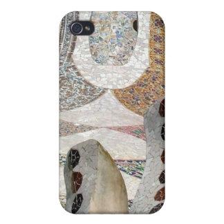 Mosaico de Gaudi iPhone 4 Coberturas