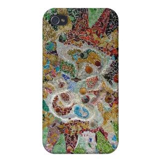 Mosaico de Gaudi iPhone 4/4S Carcasa